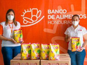 Ceteco realiza donación al Banco de Alimentos de Honduras