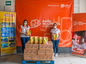 Banco de Alimentos de Honduras recibe donación por parte de Ceteco